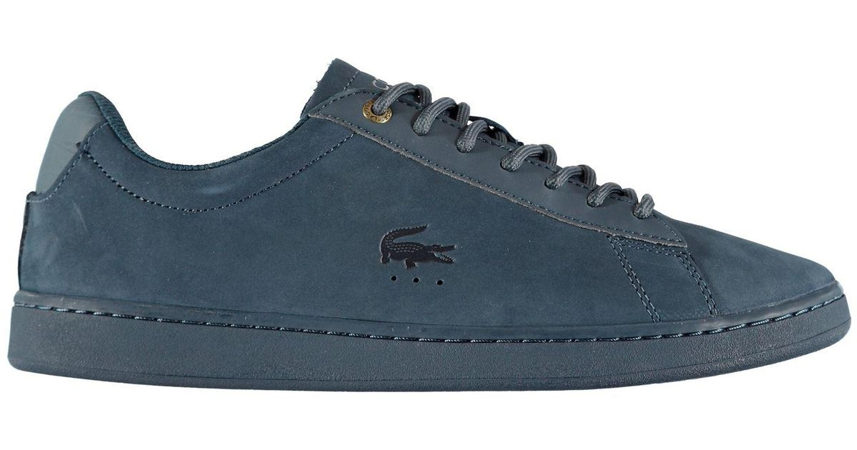 8af5e32fc Lacoste Carnaby Evo Gsp Trainers in Blue for Men - Lyst