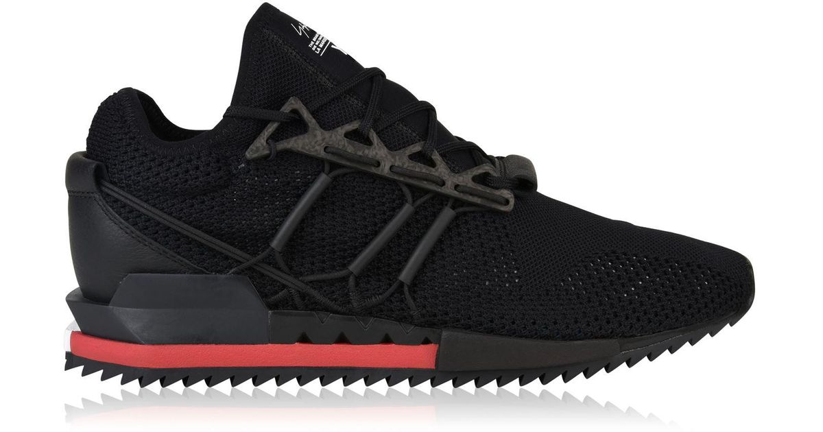 c45d07ed8a768 Y-3 Harigane Runner Trainers in Black for Men - Lyst