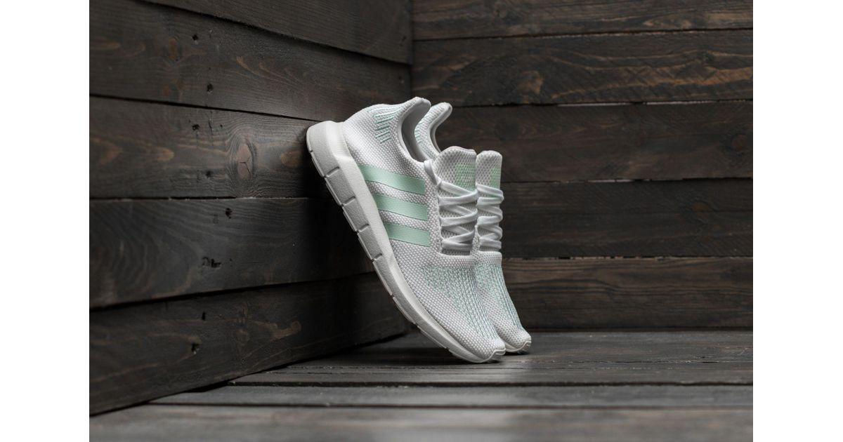 c03b4ac09f6d1 Lyst - adidas Originals Adidas Swift Run W Footwear White  Grey One  Ice  Mint in Gray