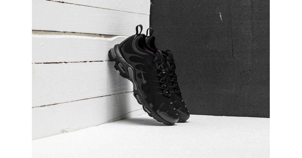 d89d4759e3 ... new style lyst nike air max plus tn ultra black anthracite black in  black for men