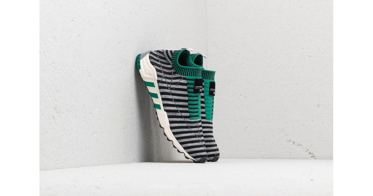 wholesale dealer 32905 10e81 Lyst - adidas Eqt Support Sk Primeknit Shoes in Green