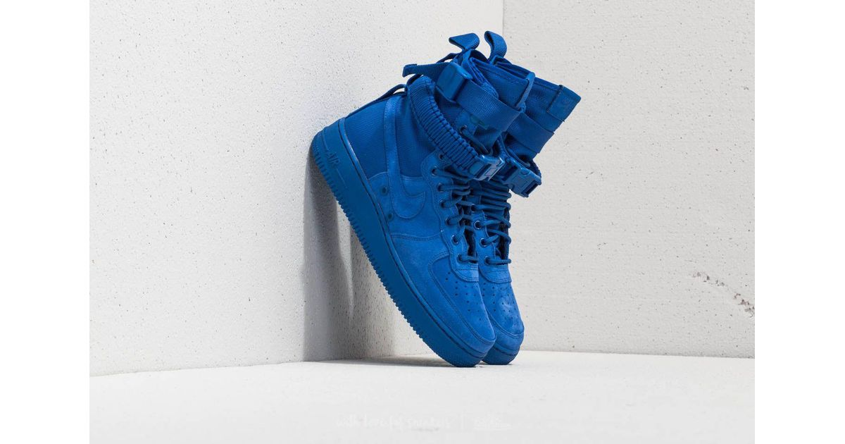 Lyst - Nike Sf Air Force 1 Game Royal  Game Royal in Blue for Men 2b72253e0