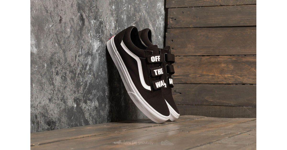 Black V In Skool Vans Lyst White Old Wall The off True 1tqH104wfv