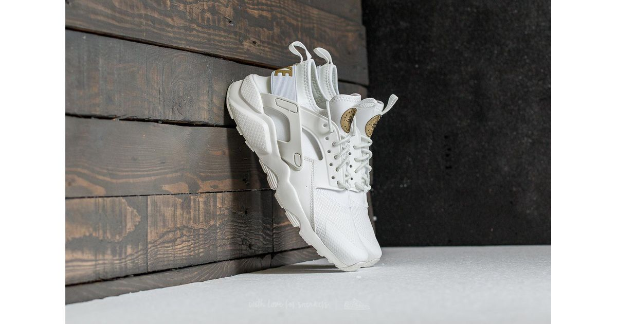 228c7f753ef0c Lyst - Nike Air Huarache Run Ultra Gs Summit White  Metallic Gold in  Metallic