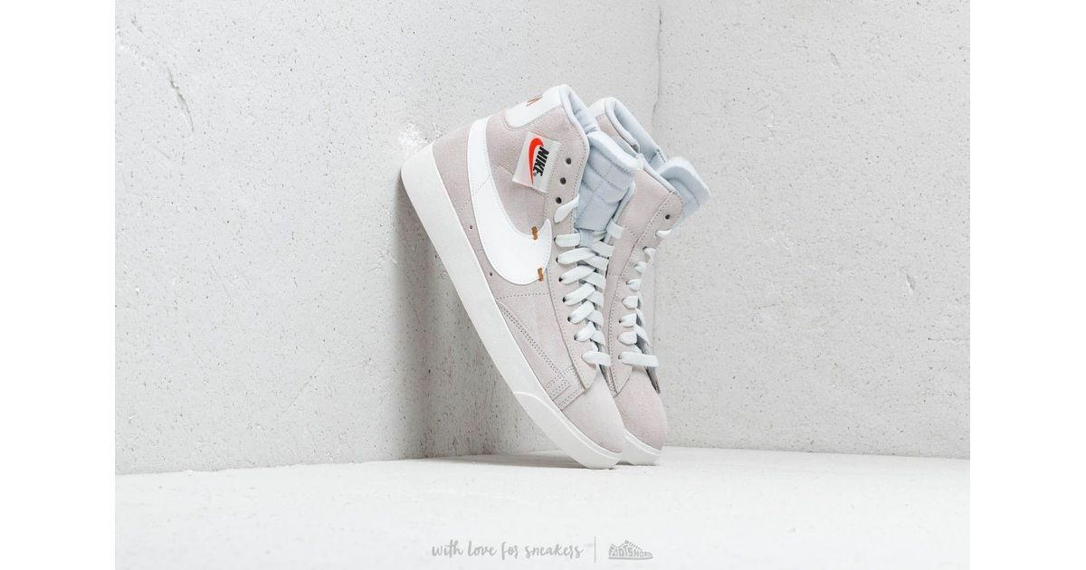Lyst - Nike Blazer Mid Rebel Wmns Off White  Summit White-pure Platinum in  White 12ed64040
