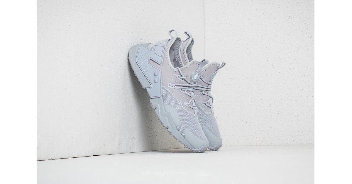 5b5b6a8991902 Lyst - Nike Air Huarache Drift Wolf Grey  White in Gray for Men