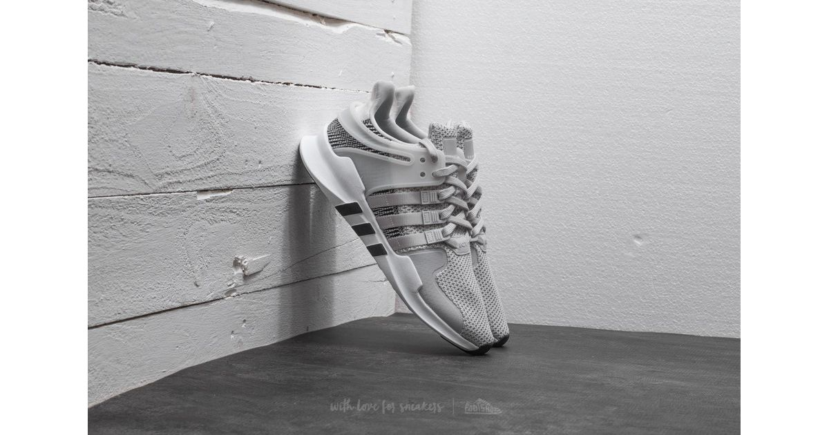 newest 22993 8b781 Lyst - adidas Originals Adidas Eqt Support Adv Ftw White Ftw White Grey  One in Gray for Men