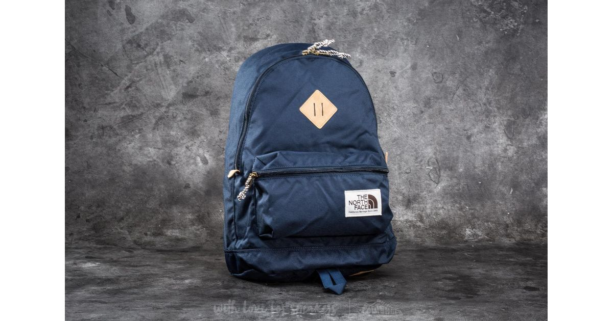 e983b188a Footshop The North Face Berkeley Backpack Urban Navy in Blue - Lyst