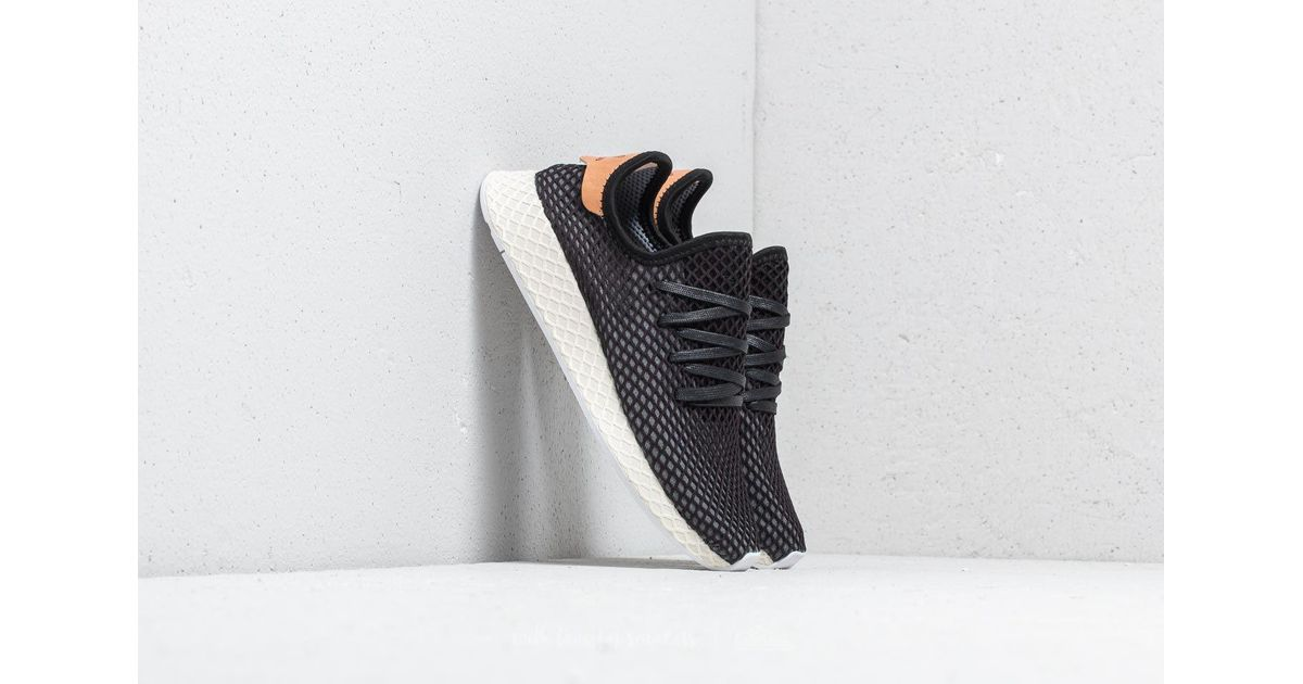 brand new e0aa3 7a2a1 Lyst - adidas Originals Adidas Deerupt Runner Core Black Core Black Ash  Pearl in Black for Men
