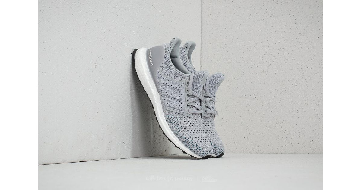 a4a9a50ff7083 Lyst - adidas Originals Adidas Ultraboost Clima Grey Two  Grey Two  Real  Teal in Gray for Men