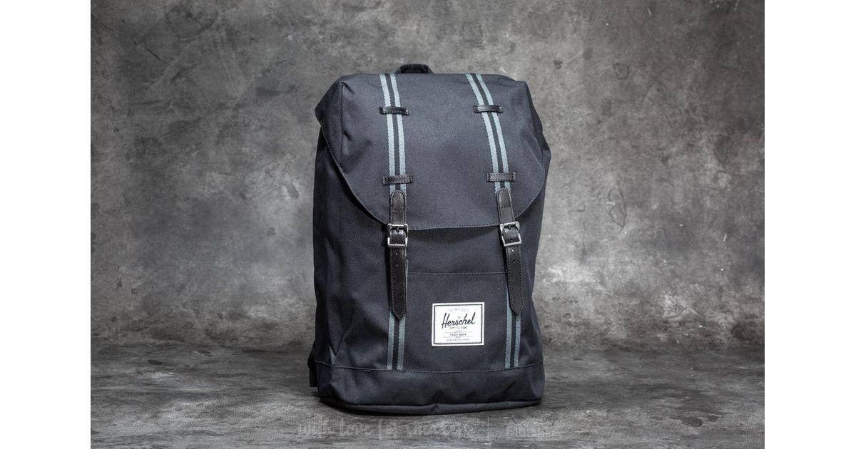 Lyst - Herschel Supply Co. Retreat Backpack Black  Dark Shadow in Black for  Men bb5dc66a97