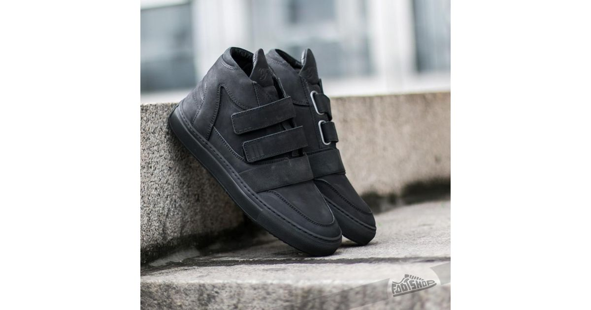 de4f719f3a3 Lyst - Filling Pieces Mid Top Transformed Double Strap All Black in Black  for Men