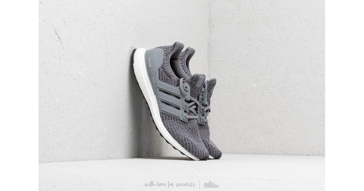 d7bee46618e5 Lyst - adidas Adidas Ultraboost Grey Three  Grey Three  Core Black in Gray  for Men