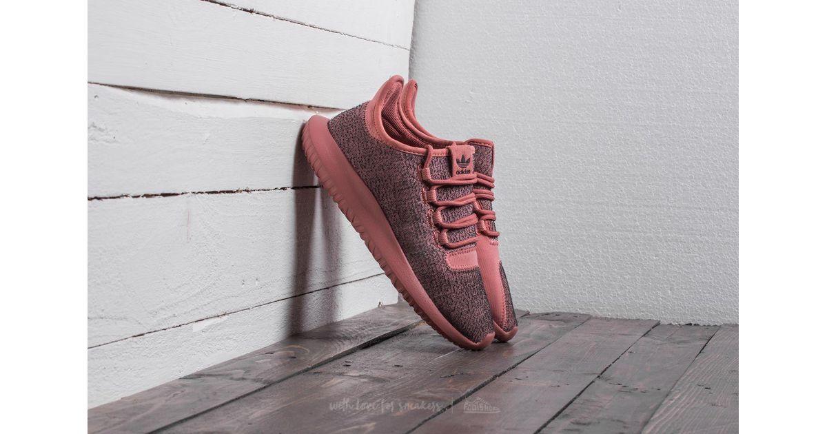 lyst adidas originals adidas tubuläre schatten w raw raw rosa rosa /