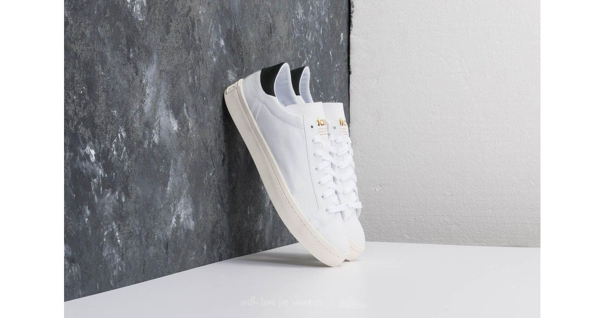 newest 57bd1 7f6dd Lyst - adidas Originals Adidas Courtvantage Ftw White Ftw White Core Black  in White for Men