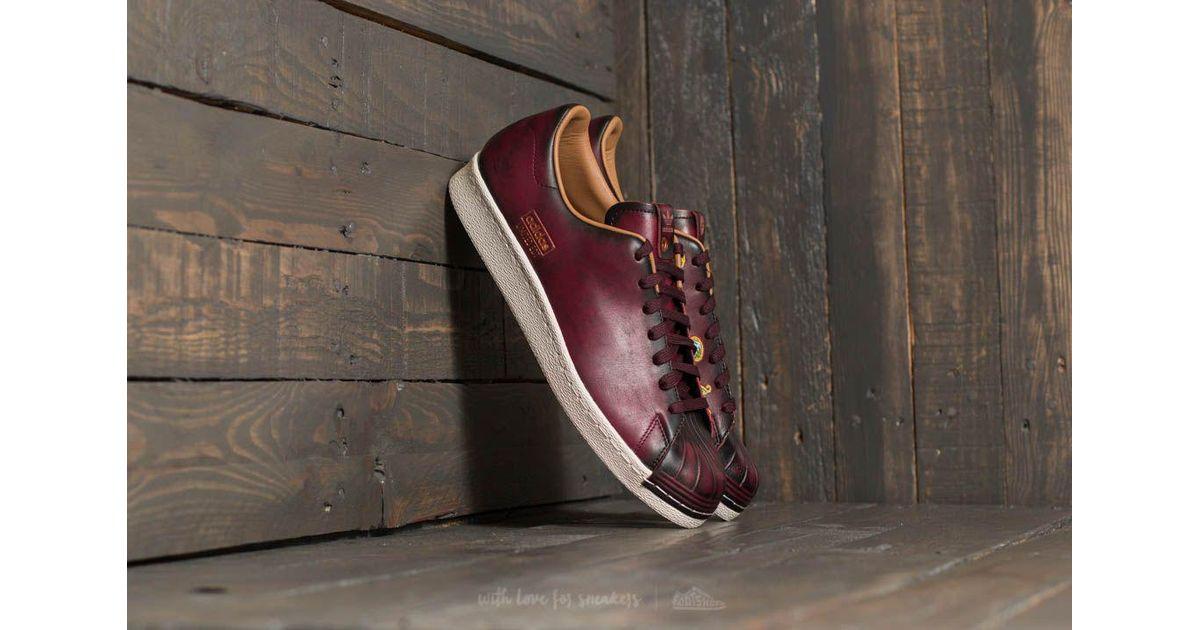 adidas Basketball Schuhe Superstar 80s x Limited Edt