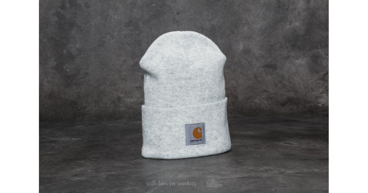 901e3f9b1131 Lyst - Carhartt WIP Acrylic Watch Hat Ash Heather in Gray