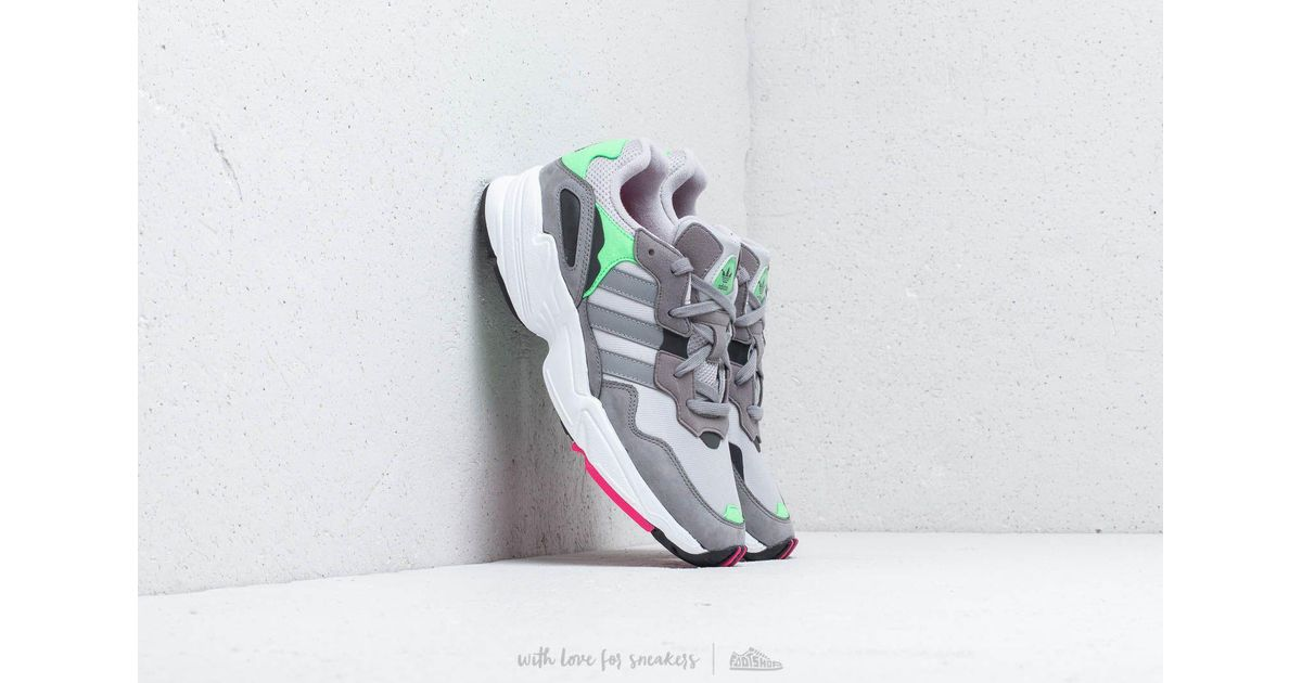 Lyst - Adidas Originals Adidas Yung-96 Grey Two  Grey Three  Shock Pink in  Gray for Men de76f84d1