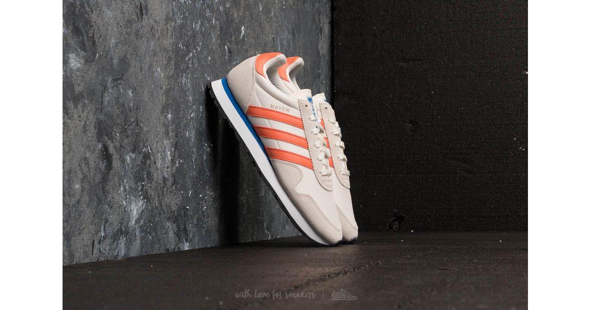 758784f0564 Lyst - adidas Originals Adidas Haven Chalk White  Trace Orange  Off White  in White for Men