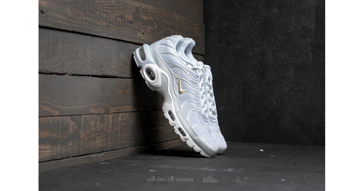 a0937c8a0d706 Nike Air Max Plus Pure Platinum/ Metallic Gold in Metallic for Men - Lyst