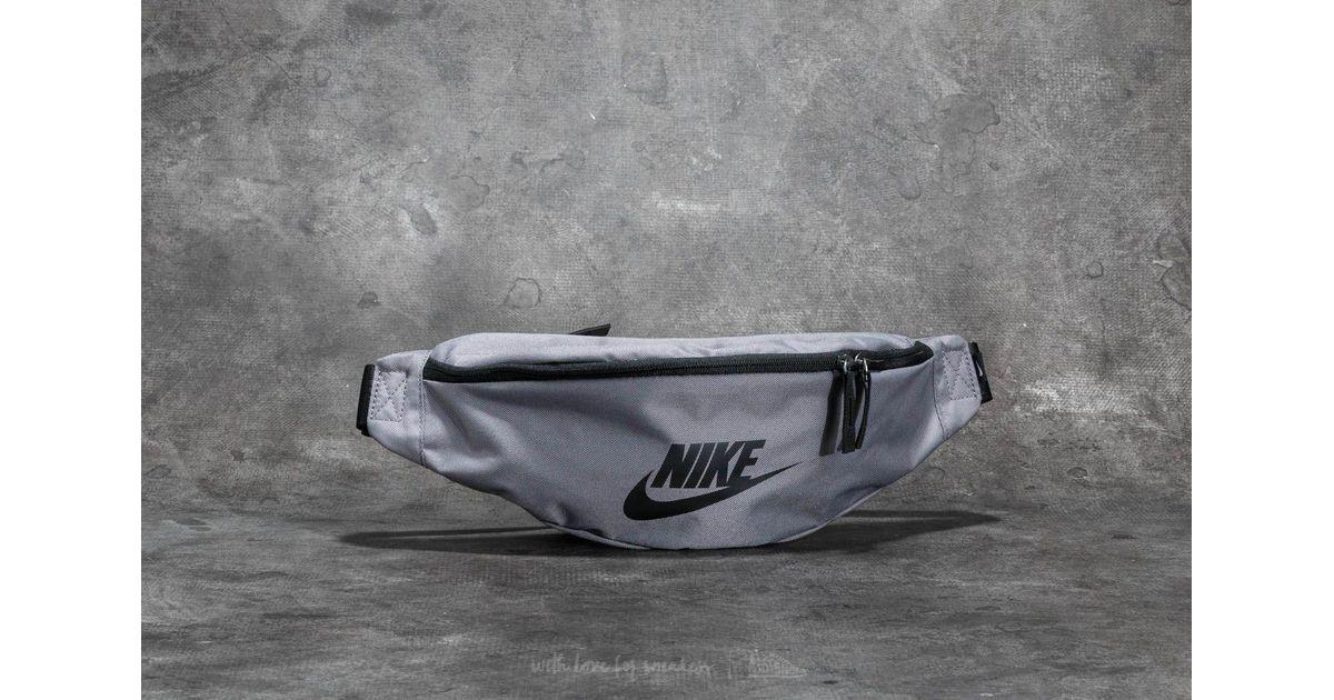 82fae02d37 Lyst - Nike Heritage Hip Pack Gunsmoke  Black in Black for Men