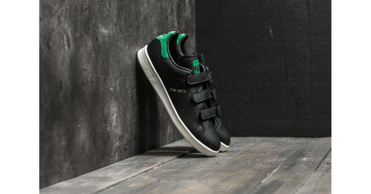 634e680b0e7b Lyst - adidas Originals Adidas Stan Smith Cf Core Black  Core Black  Green  in Black for Men