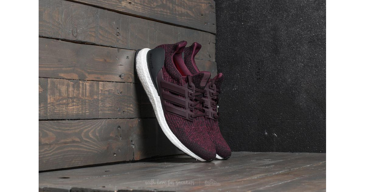 1f435ebc71d56 Lyst - Footshop Adidas Ultraboost Dark Burgundy  Core Black for Men