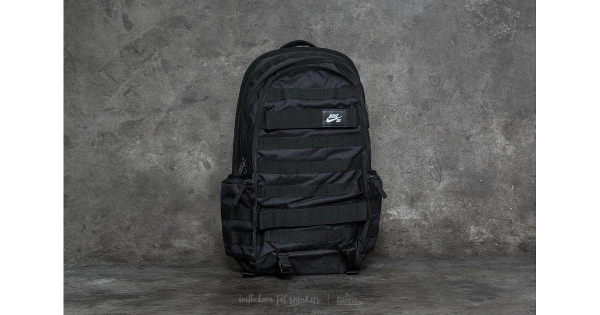 d0d2d44d49144c Lyst - Nike Sb Rpm Backpack Black  Black in Black for Men
