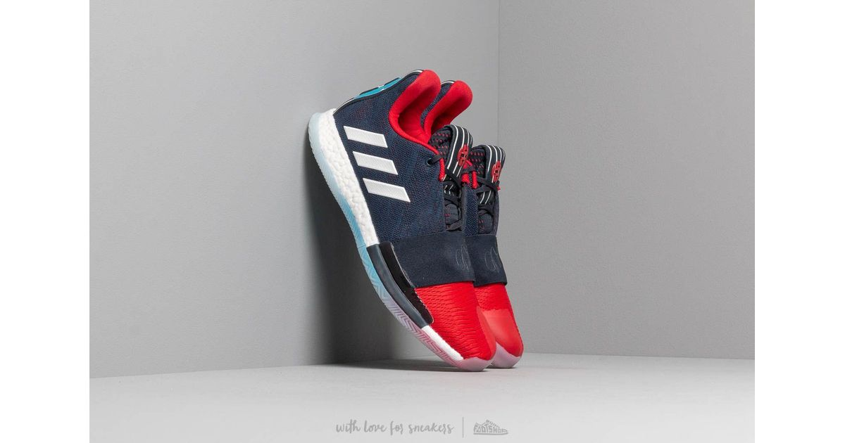 official photos 2f6bf efdc5 adidas Originals Adidas Harden Vol. 3 Legend Ink  Collegiate Navy  Power  Red in Blue for Men - Lyst