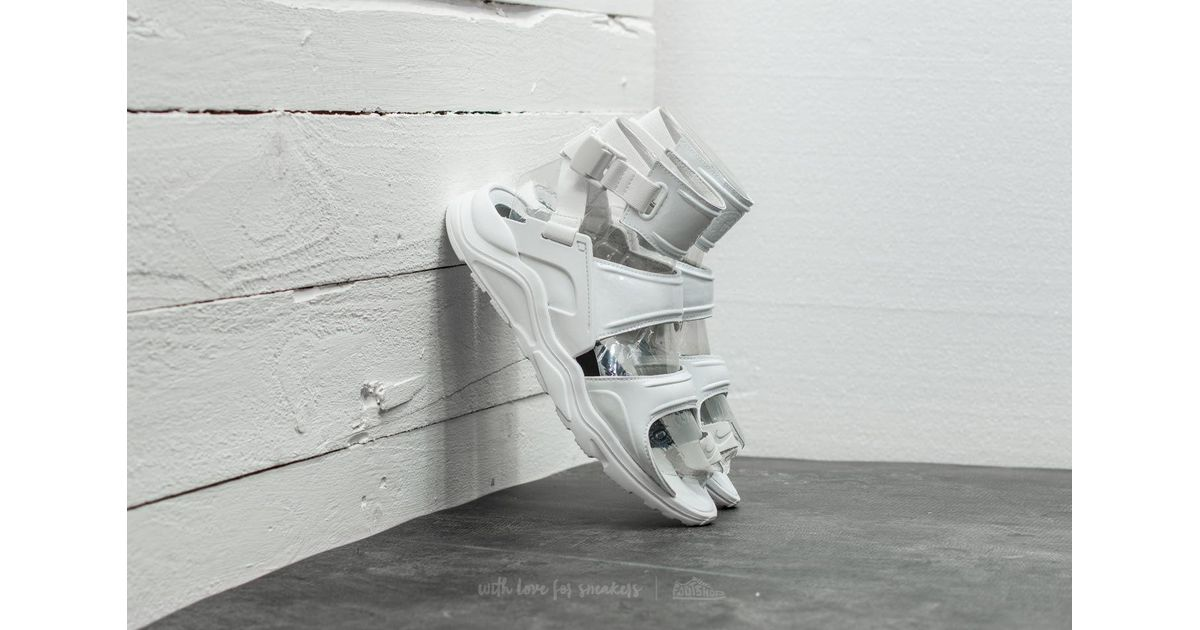 info for c2204 008c5 Nike Wmns Air Huarache Gladiator Qs Summit White  Summit White in White -  Lyst