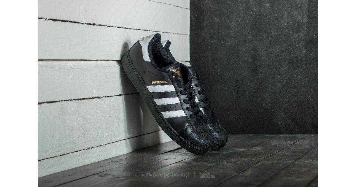 Lyst / adidas Originals Adidas Superstar Foundation Core Negro / Lyst FTW 5426b7