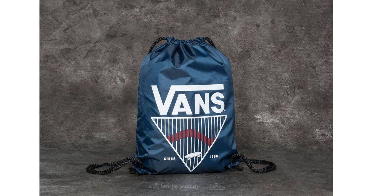 57386e54e Lyst - Vans League Bench Bag Dress Blues Stripe in Blue