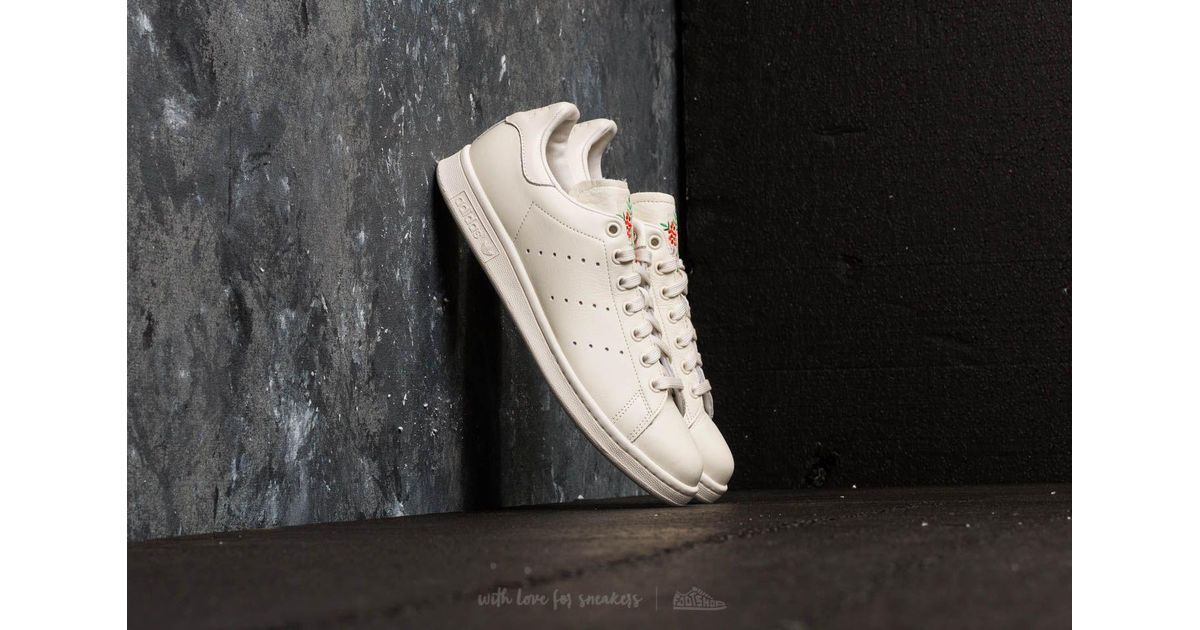 75f966174554 Lyst - adidas Originals Adidas Stan Smith Chalk White  Chalk White  Chalk  Pearl in White for Men - Save 14%
