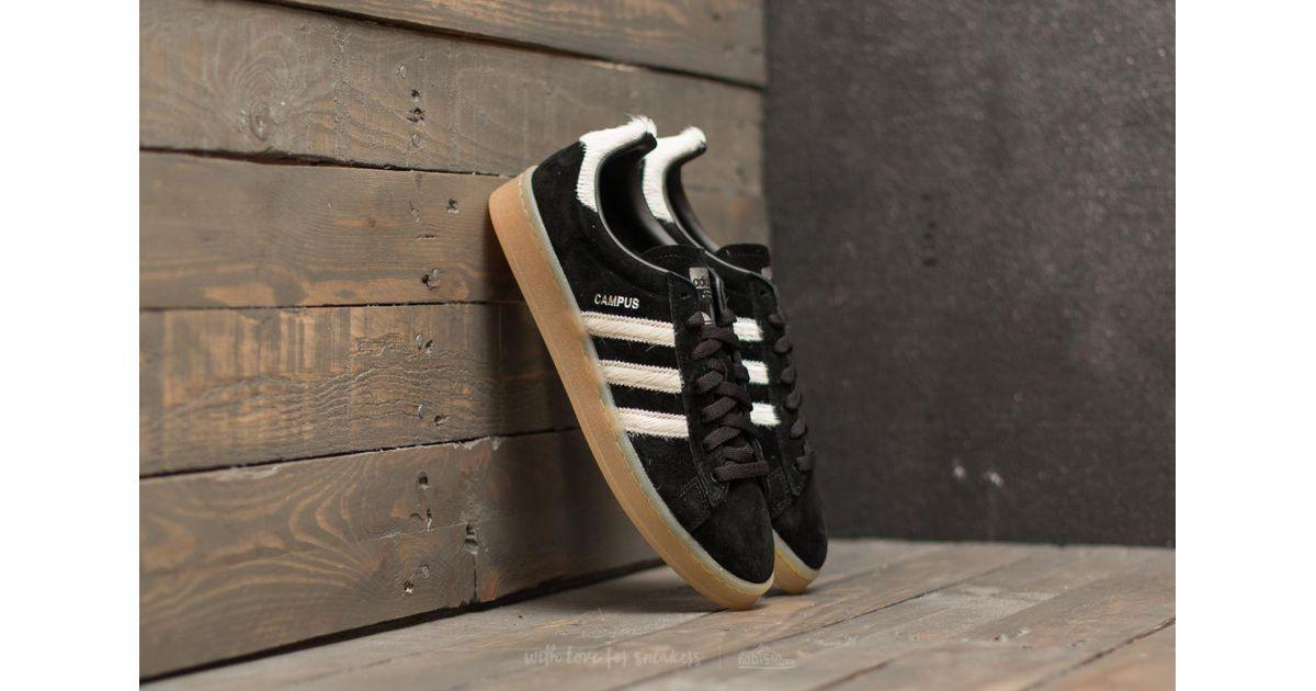 19e96bf7c3e006 Lyst - adidas Originals Adidas Campus Core Black  Vintage White  Silver  Matte for Men