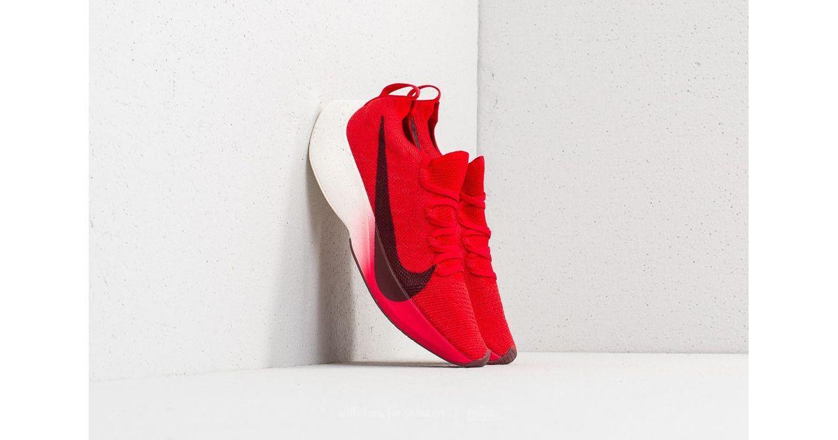 4511e85c2ab2 Lyst - Nike Vapor Street Flyknit University Red  Dark Team Red in Red for  Men