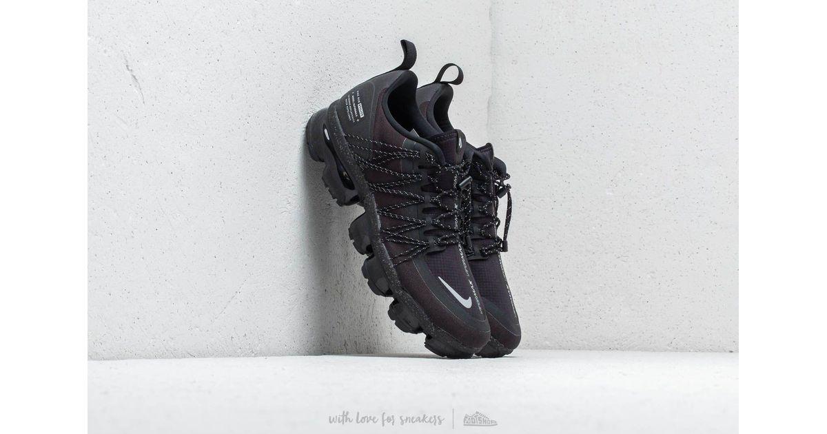 eab7b3163921 Lyst - Nike Air Vapormax Run Utility Black  Reflect Silver- Black in Black  for Men