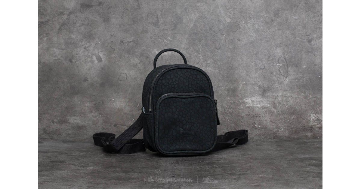 Lyst - adidas Originals Adidas Ac Classic Mini Backpack Black in Black b3d0dd67ee1c8