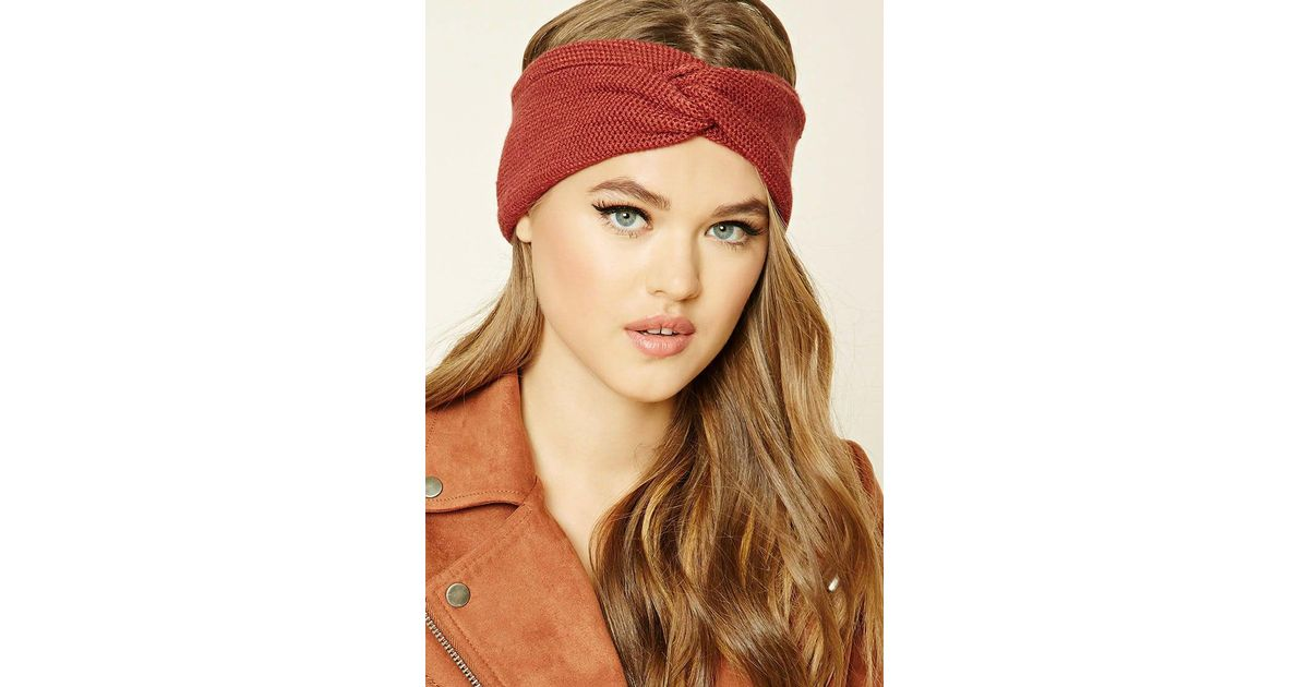 Lyst - Forever 21 Knotted Headwrap b33f60cf31f