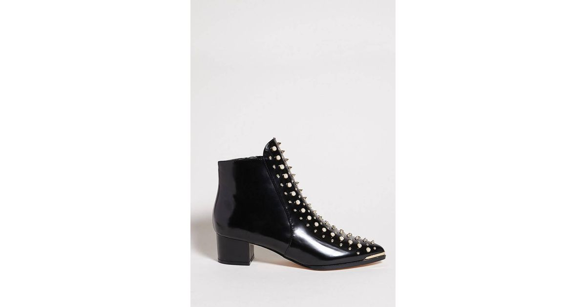 Lyst - Forever 21 Privileged Shoes Boots in Black 90b6685f08ee