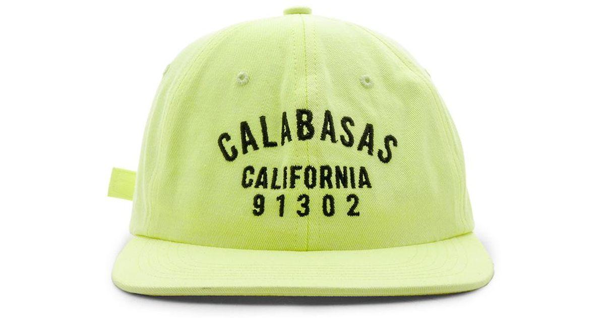 Lyst - Yeezy Calabasas Hat 9f54eddbaa4