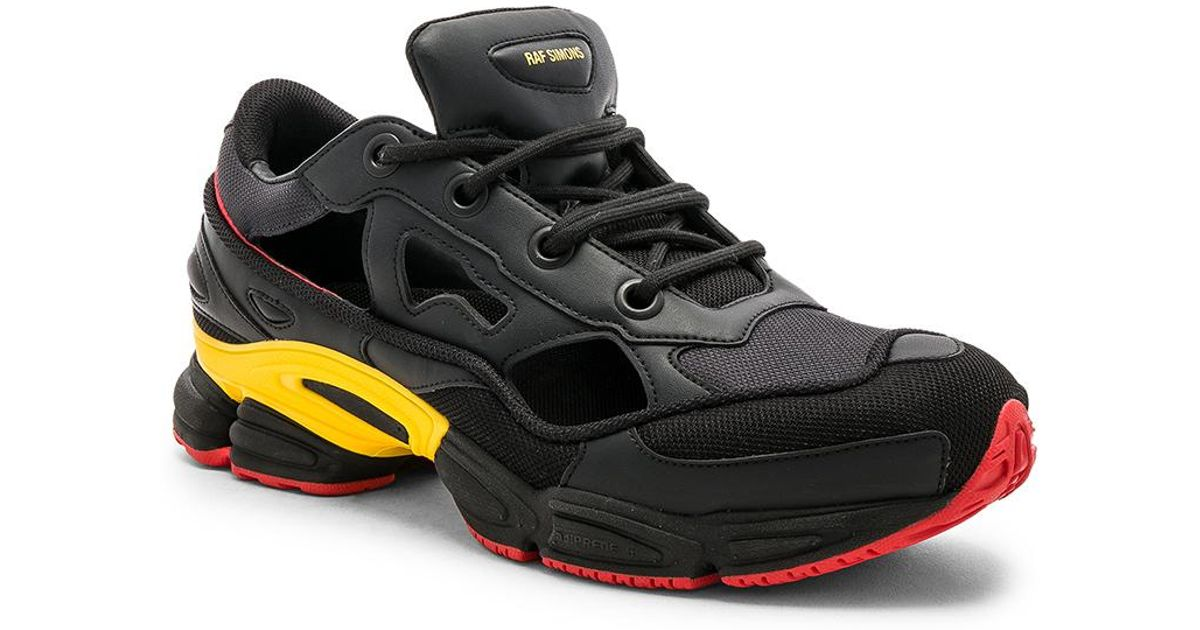 quality design d33a8 2ce53 Lyst - adidas By Raf Simons Belgium National Day Replicant Ozweego in Black  for Men