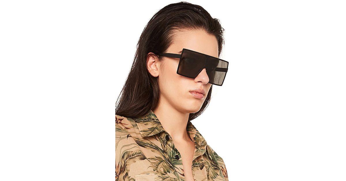 68948f51c76 Saint Laurent Betty Sunglasses in Black - Lyst