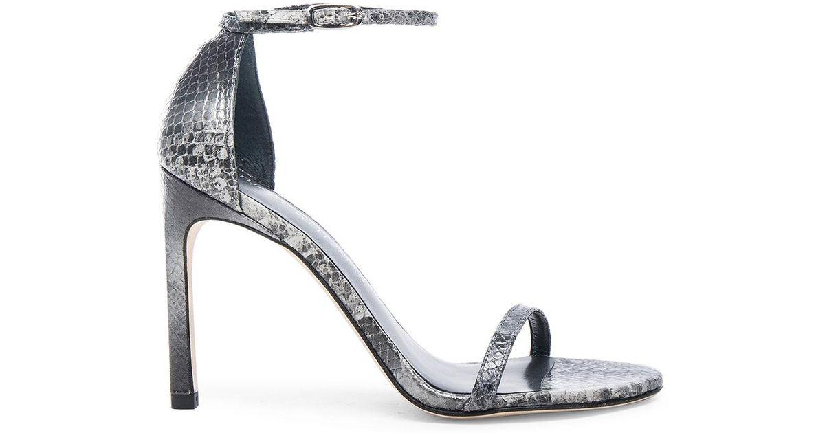 Stuart Weitzman Women Sandals Rock Grey