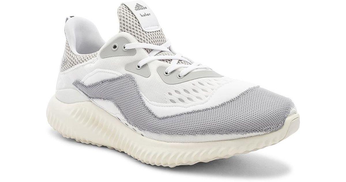 a3c85852b0c1 Lyst - Adidas Originals Kolor X Adidas Alpha Bounce in White