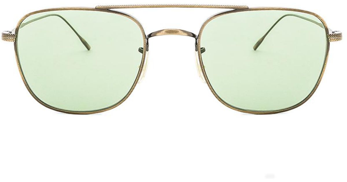 8a51684d3c Oliver Peoples Kress in Green - Lyst