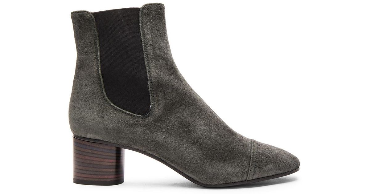Isabel Marant Danae Velvet Booties in .