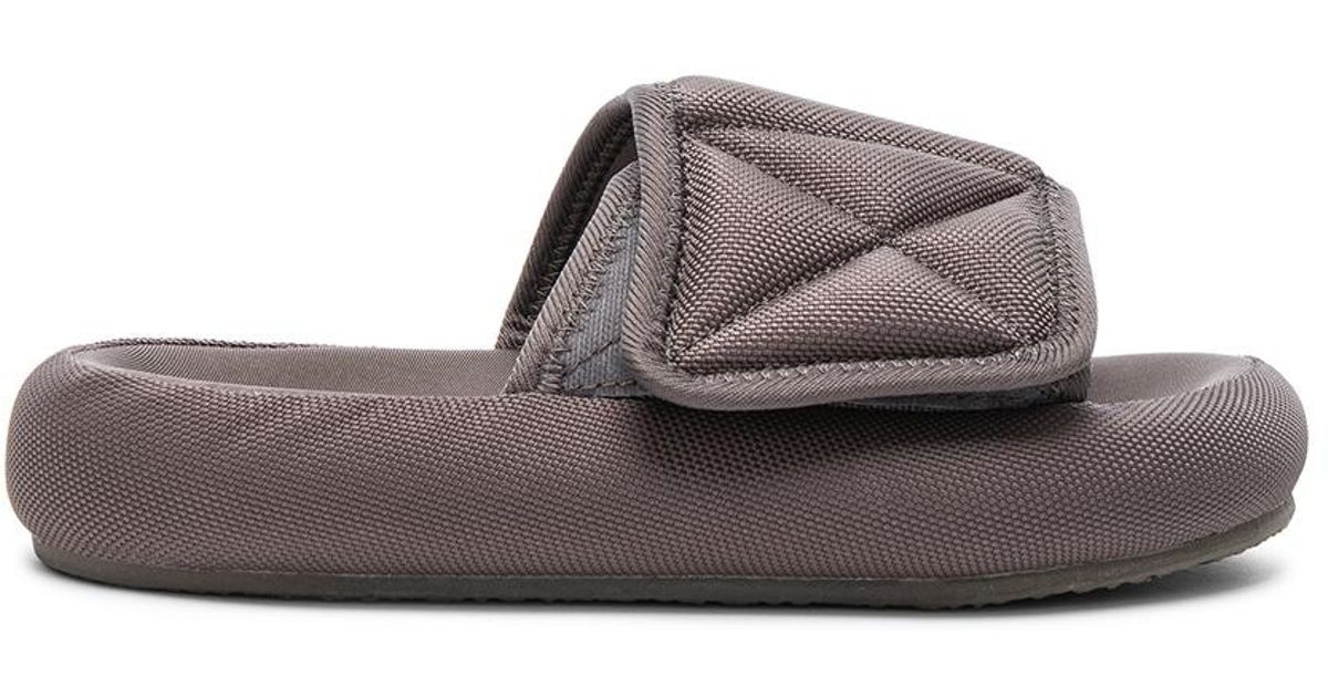 34e995af5690e Lyst - Yeezy Season 6 Nylon Canvas Slippers in Brown