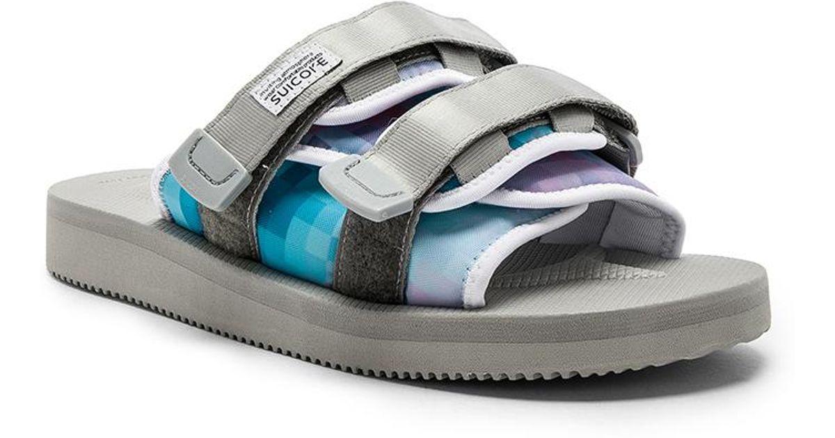 8888613f8ff1 Lyst - John Elliott X Suicoke Sandals in Blue