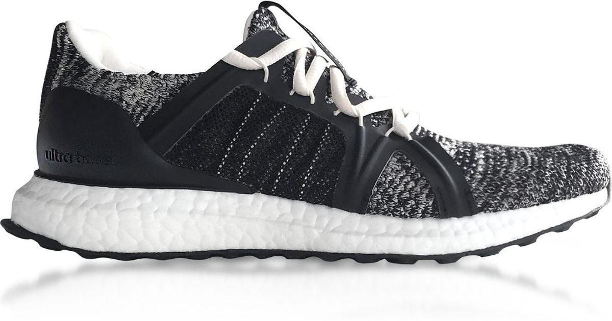 35b53835a Lyst - adidas By Stella McCartney Core Black And Chalk White Ultraboost  Parley Trainers in Black