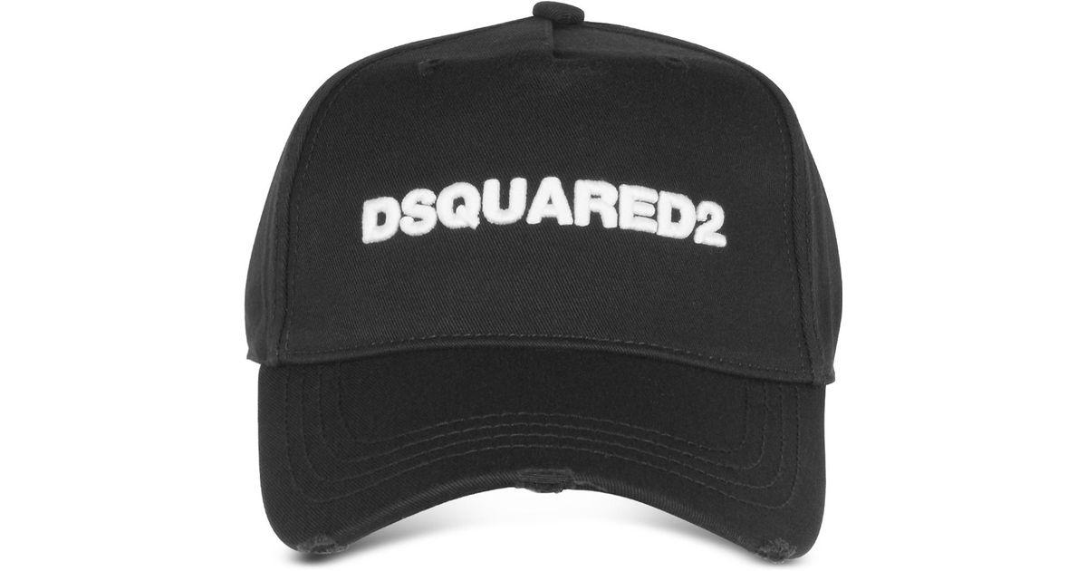 435bc2ac93de2a DSquared² Baseball Cap in Black for Men - Save 12% - Lyst